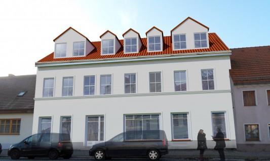 Erteilung der Baugenehmigung <br>Yorckstrasse 32