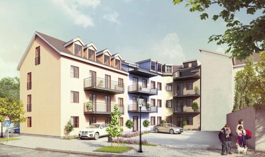Erteilung der Baugenehmigung <br>Yorckstrasse 38+38a
